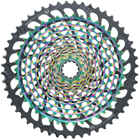 SRAM XG-1299 Eagle Kassette 12-speed, rainbow